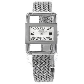 Coach Coach Bridle Silver Dial Stainless Steel Lad