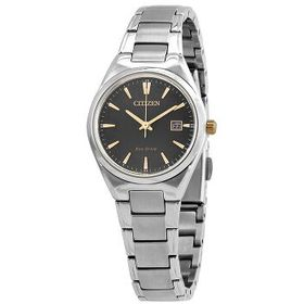 Citizen Citizen Eco-Drive Grey Dial Ladies Watch E