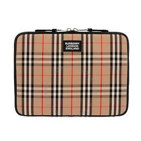 Burberry Burberry Beige Vintage Check Zipped Pouch