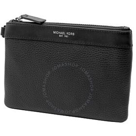 Michael Kors Michael Kors Men's Black Leather Smal