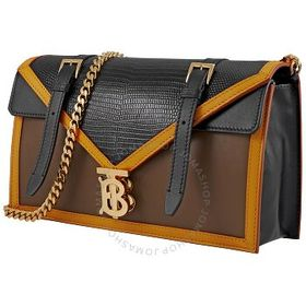 Burberry Burberry Small Embossed Leather Tb Envelo