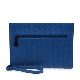 Bottega Veneta Bottega Veneta Blue Document Case