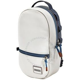 Coach Coach Pacer Backpack With Coach Patch in Bla