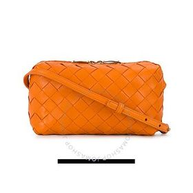 Bottega Veneta Bottega Veneta Orange Intrecciato C
