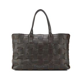 Bottega Veneta Bottega Veneta The Brown Maxi Cabat
