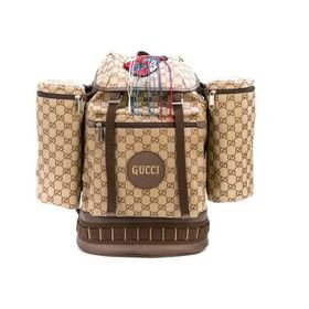 Gucci Gucci Men's GG Canvas Backpack