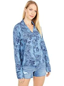 Roxy Not Now Printed Long Sleeve Top
