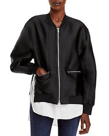 3.1 Phillip Lim - Layered Look Bomber Jacket