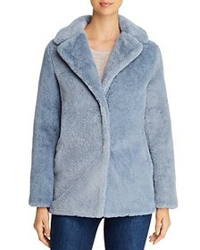 T Tahari - Faux Fur Teddy Coat