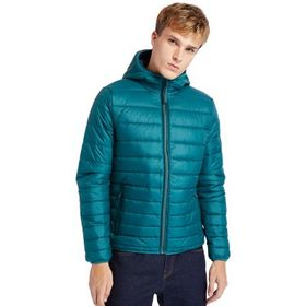 Timberland Men's Mt. Eastman Quilted Hooded Jacket