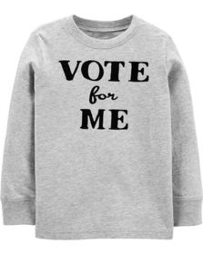 carters Vote For Me Jersey Tee