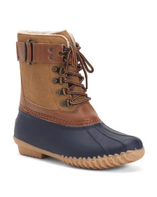 Winter Ready Waterproof Duck Boots