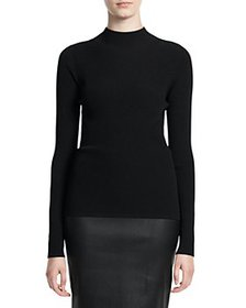 Theory - Leenda Ribbed Pullover Sweater
