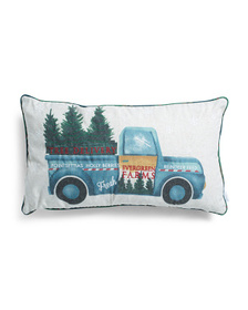 14x24 Delivery Truck Pillow