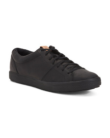 MERRELL Men's Leather Lace Up Sneakers