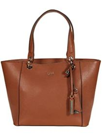GUESS GUESS - Kamryn Tote. Color Cognac. On sale f