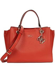 GUESS GUESS - Cami Girlfriend Satchel. Color Rust.