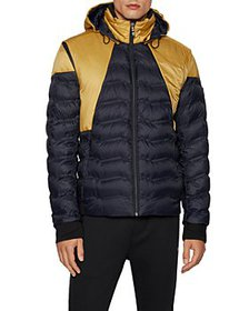 BOSS - Water Repellent Hooded Performance Jacket