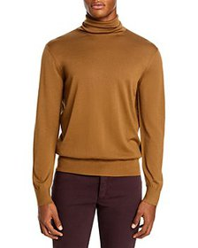 Z Zegna - Merino Wool Slim Fit Turtleneck Sweater