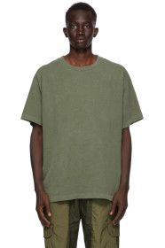 John Elliott - Khaki University T-Shirt