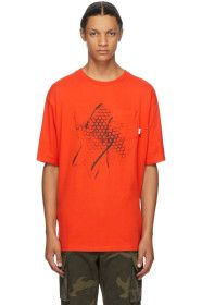 Vans - Red WTAPS Edition Waffle Lovers Club T-Shir