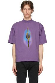Palm Angels - Purple Cactus T-Shirt