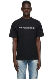 Palm Angels - Black 'Palm Airlines' T-Shirt