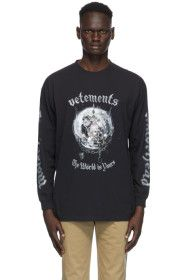 VETEMENTS - Black Mötorhead Edition 'The Wörld is