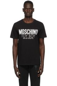 Moschino - Black 'Toy Boy' T-Shirt
