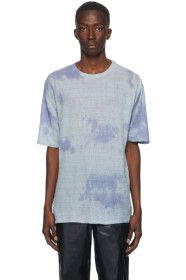 Our Legacy - Blue Sheer Linen Box T-Shirt