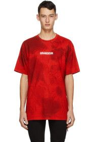Ksubi - Red 'Grandeur' T-Shirt