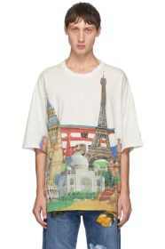 Doublet - White Heritage Compressed Earth T-Shirt