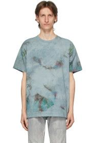 John Elliott - Blue Marble Mix University T-Shirt