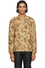 1017 ALYX 9SM - Brown Leopard Long Sleeve T-Shirt