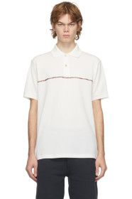 Paul Smith - White Signature Stripe Polo