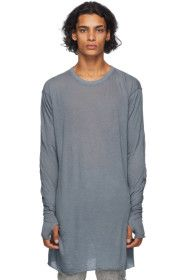 Boris Bidjan Saberi - Grey Glove Long Sleeve T-Shi