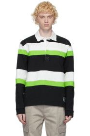 Valentino - Black & Green Jelly Block Long Sleeve