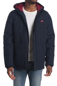 Levi's Long Quilted Puffer City Parka Jacket
