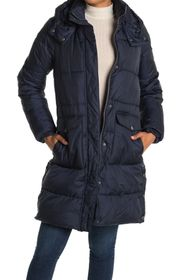 Lucky Brand Missy Hooded Quilted Jacket