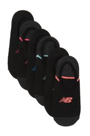 New Balance No Show Liners - Pack of 6