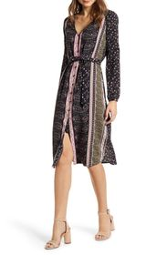 cupcakes and cashmere Button Front Nollie Dress