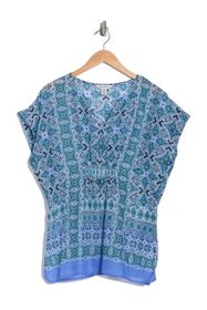 Tommy Bahama Nassau Novelty Short Sleeve Kaftan