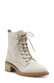 Sole Society Faunya Leather Lace-Up Boot