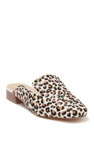 Nine West Calf Hair Square Toe Mules