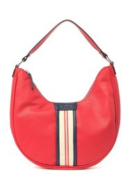 Nautica Centerboard Stripe Trim Hobo Bag