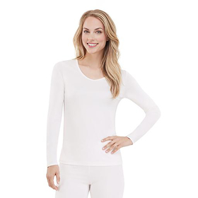 Womens Cuddl Duds® Climatesmart® Long SLeeve Top
