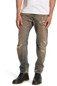 Diesel Larkee Distressed Straight Leg Jeans