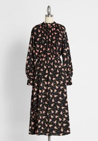 Louche Louche Meet Me in the Meadows Midi Dress in