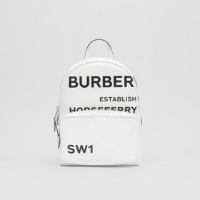 Burberry Horseferry Print Coated Canvas Backpack i