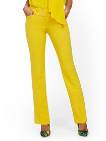 Petite Barely Bootcut Pant - Mid Rise - Double Str